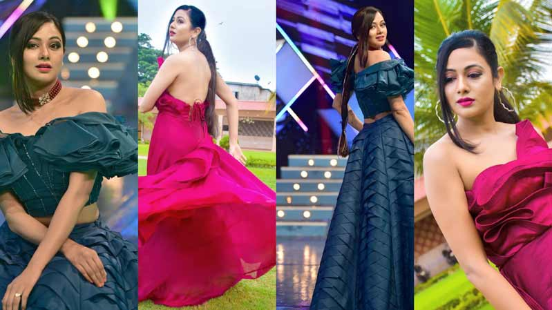 Archita Sahu's most hottest photos ever in Blue and Red Dress