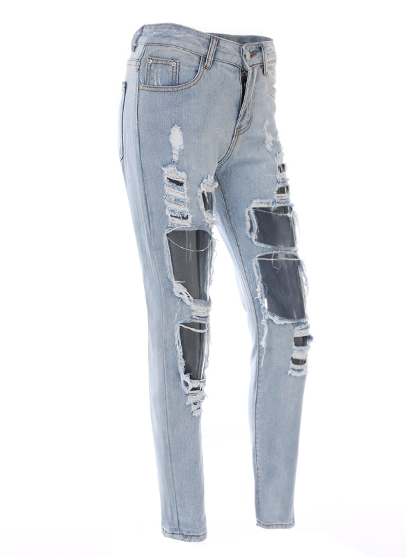 dresslink ripped jeans
