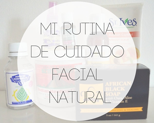 cuidado facial natural