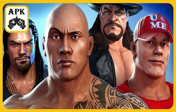 Download WWE Champions Free Puzzle RPG MOD APK Android Game