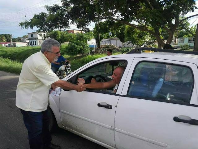 """APURE: Luis Lippa desde el sector """"La Planta"""" refutó ciertos señalamientos de un representante de Conatel-Psuv en la entidad."""