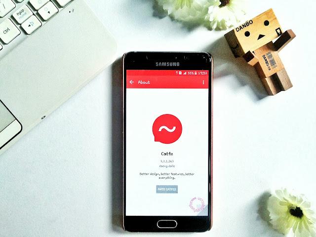 Aplikasi Catfiz Messenger