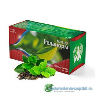 Реланорм - чай для нормализации работы центральной нервной системы