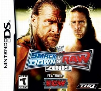 Rom WWE SmackDown vs Raw 2009 featuring ECW NDS