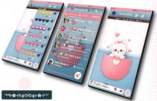 White Teddy Bear Theme For YOWhatsApp & Fouad WhatsApp By Nanda