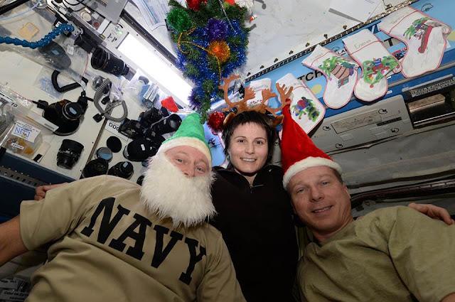 Christmas,International,Space Station