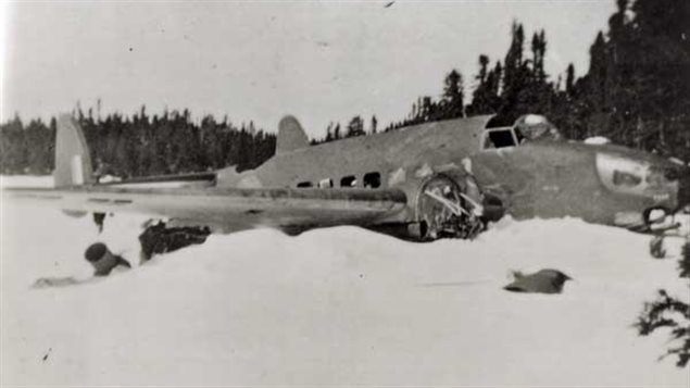21 February 1941 worldwartwo.filminspector.com Lockheed Hudson crash Dr. Banting