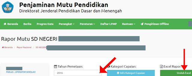 Unduh Rapor Excel PMP