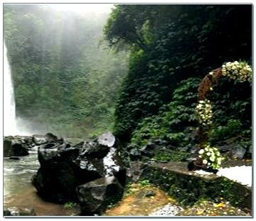 Air  Terjun Nungnung Belok Sidan Kabupaten Badung Bali