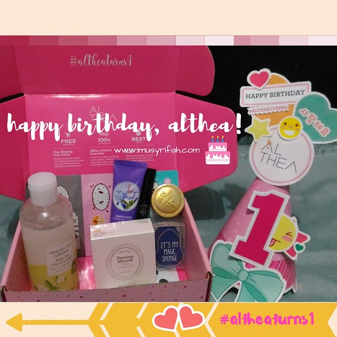 Althea First Birthday! #Altheaturns1