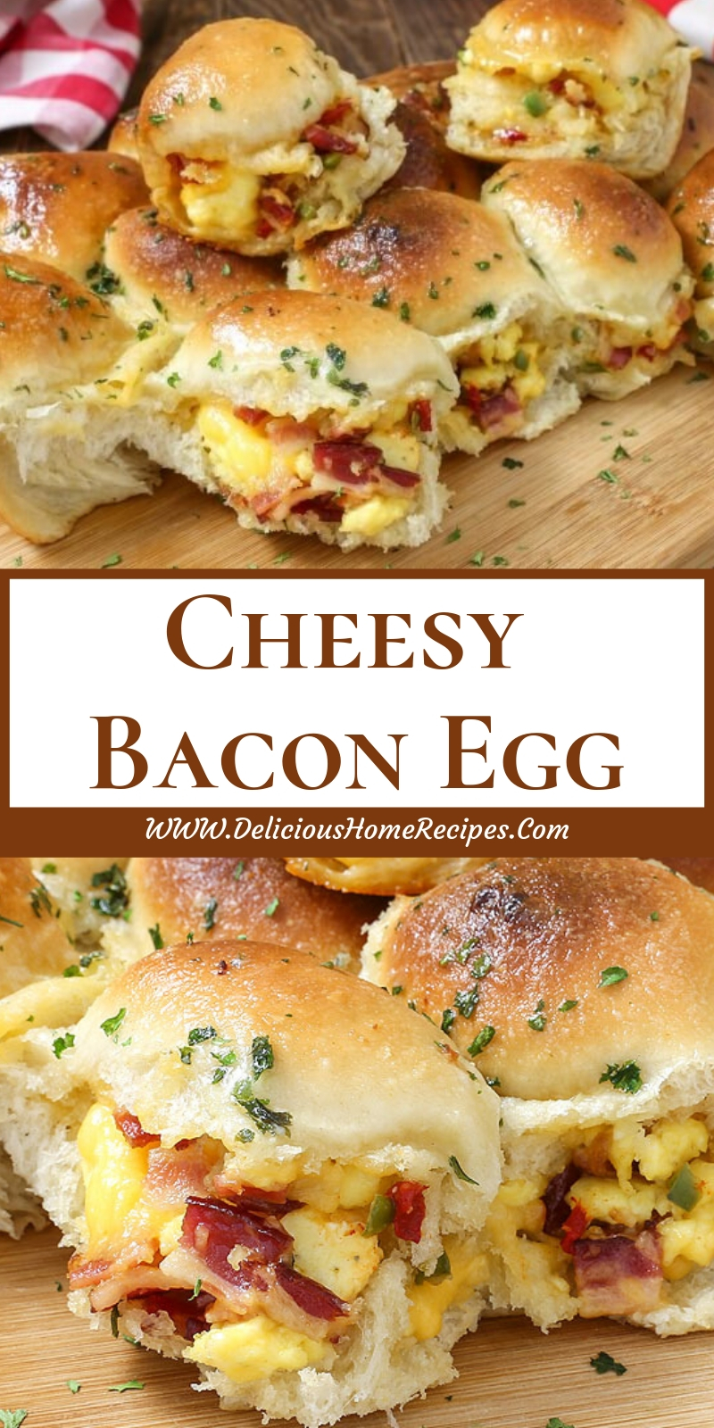 Cheesy Bacon Egg