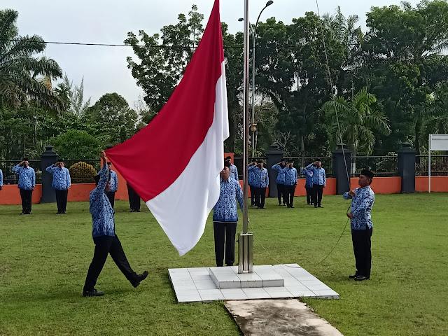 HUT KORPRI Ke 48 Di Pekanbaru, Basarnas Dorong Percepatan Reformasi Birokrasi