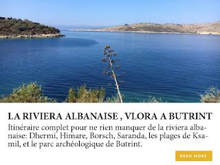La riviera albanaise, de Vlora à Butrint