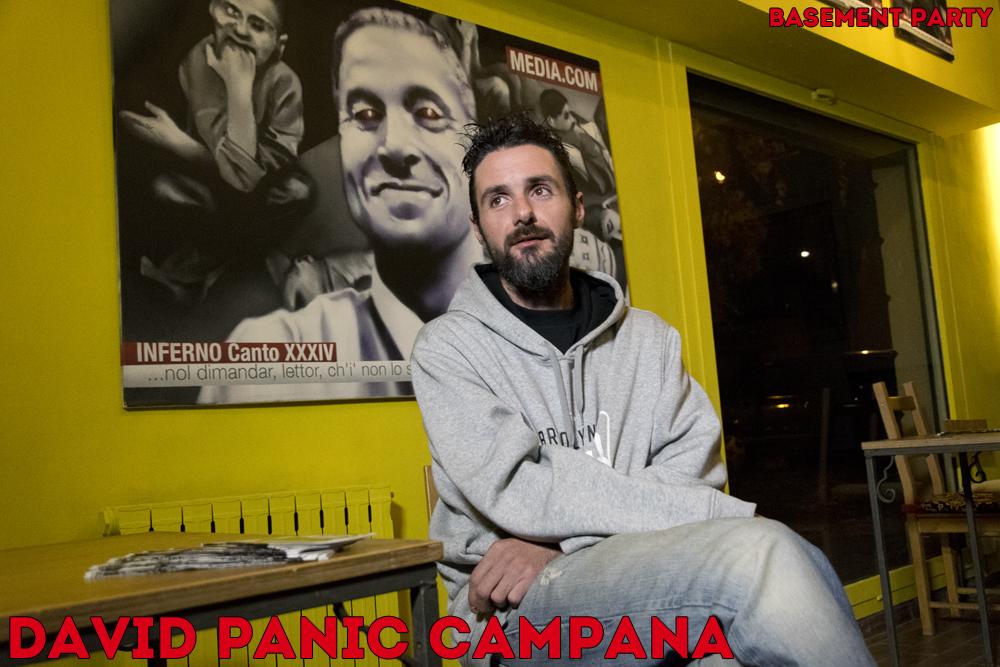 David Panic Campana al Comida