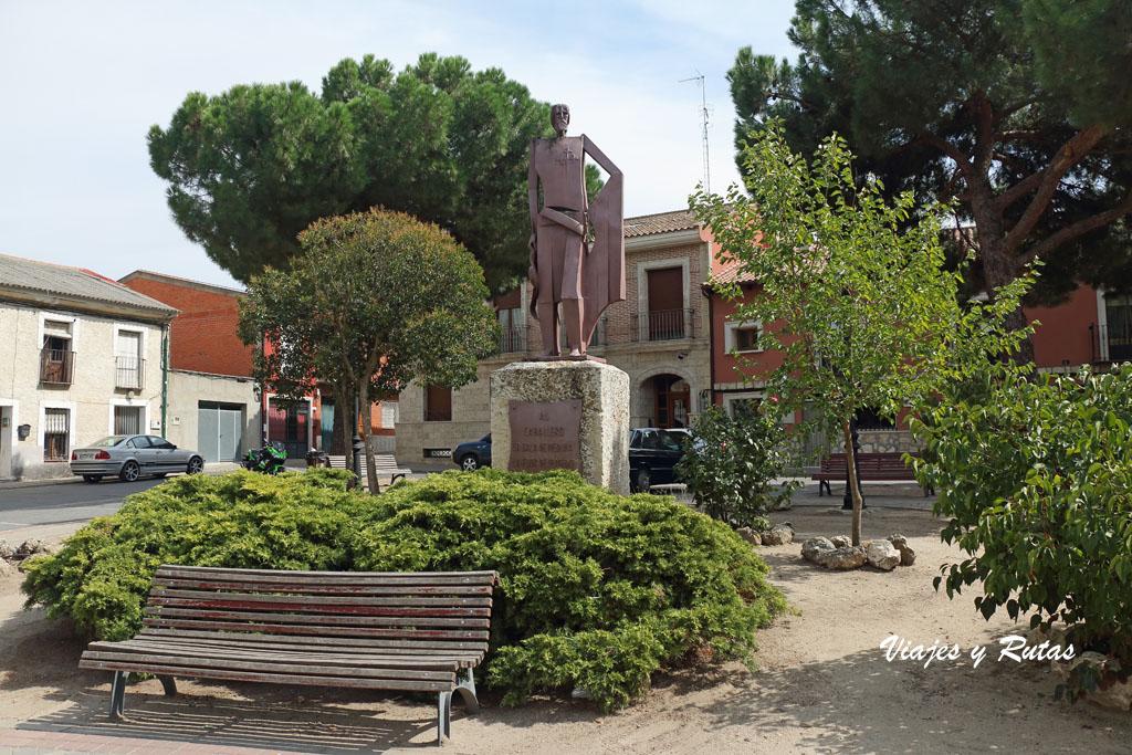 Plaza de san Julian de Olmedo
