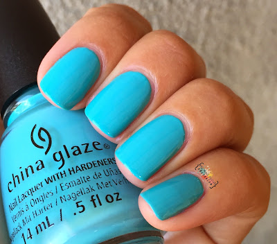 China Glaze Rain Dance the Night Away