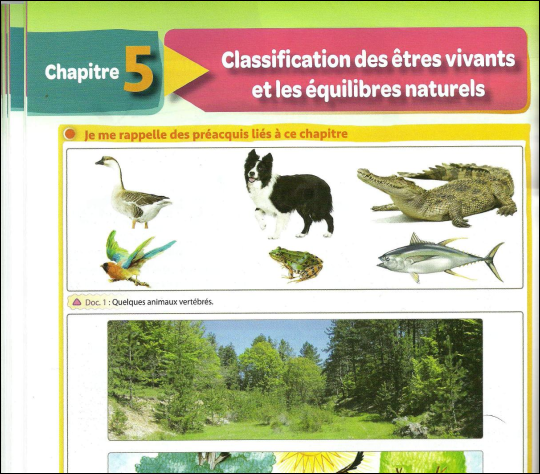 Cours et exercices Classification des êtres vivants SVT ...
