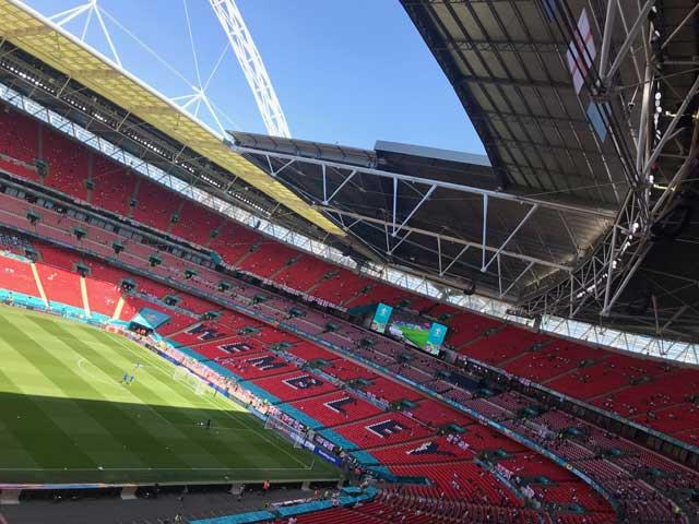 Wembley Stadium at Euro 2020
