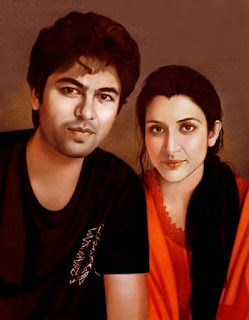young-age-beautiful-couple-portrait-painting