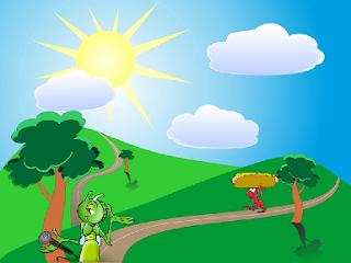 The Ant and the Grasshopper English Short stories for kid