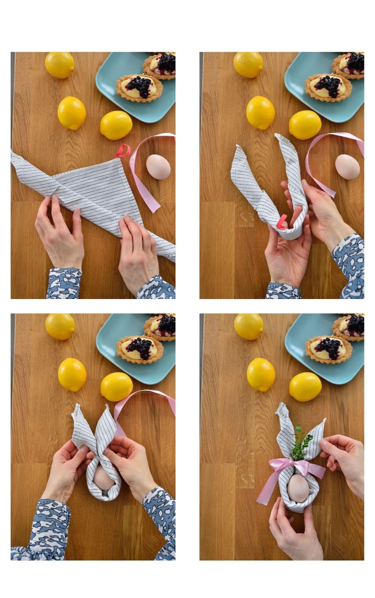 Wielkanoc dekoracje, serwetki