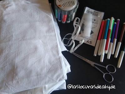 materiales para hacer una mascarilla con filtro
