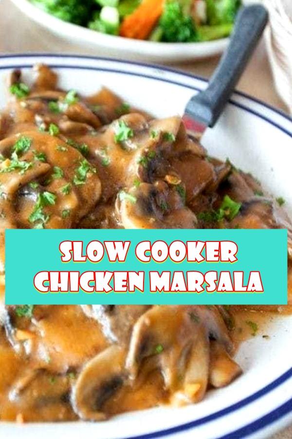 #Slow #Cooker #Chicken #Marsala