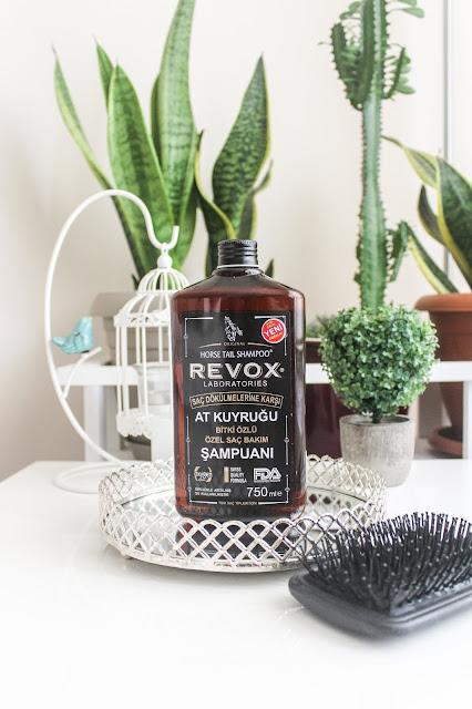 Revox Saç dökülmelerine karşı at kuyruğu bitki özlü özel bakım şampuanı