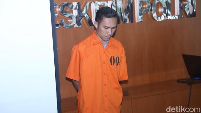 Jundi, admin akun Instagram @sr23_official, ditangkap Bareskrim