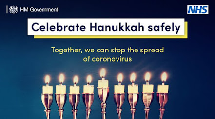 Happy Hannukah Please celebrate safely