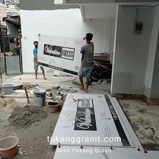 Memasang Granit Lantai
