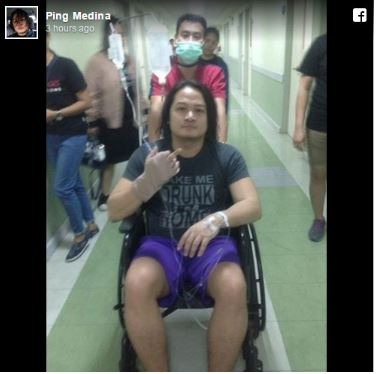 Ping Medina Angered After Baron Geisler Peed On Him During Movie Shoot
