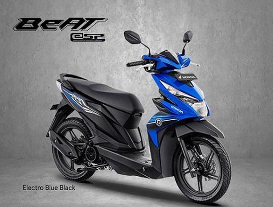 Honda BeAT eSP Varian Biru ( Electro Blue Back)