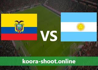 تفاصيل مباراة الأرجنتين والإكوادور اليوم بتاريخ 04/07/2021 كوبا أمريكا 2021