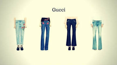 Marca de Calça Jeans Feminina Gucci