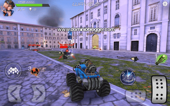 App Overload Multiplayer Battle Car para Android