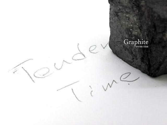 石墨で落書き