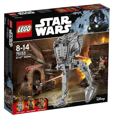 JUGUETES - LEGO Star Wars Rogue One  75153 Caminante AT-ST | AT-ST Walker  2016 | PELICULA | Piezas: 449 | Edad: 8-14 años  Comprar en Amazon España