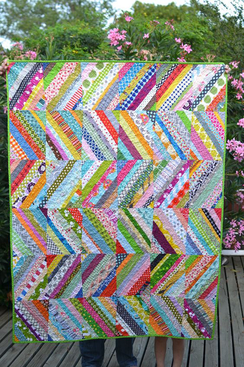 String Quilt Block Tutorial