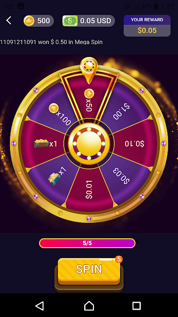 Play ClipClaps 5 Lucky Spin.
