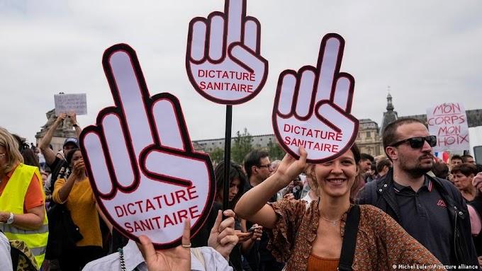 Francia: protestas contra las nuevas medidas y la respuesta de Macron
