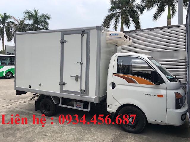 Hyundai H150 thùng đông lạnh Doosung KPI