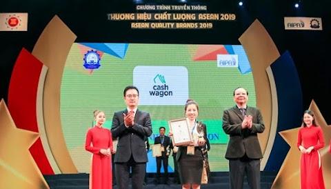 Cashwagon lọt Top 10 thương hiệu chất lượng Asean 2019