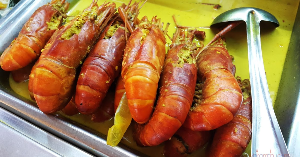 Makan Udang Galah Sepit Biru Di Leban Condong Kuala Rompin Pahang Maha Mahu Makan