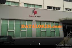 INFOKERJA.co.id | PT. Rapid Plast Indonesia Cikarang