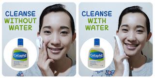 Cara menggunakan Cetaphil Gentle Skin Care