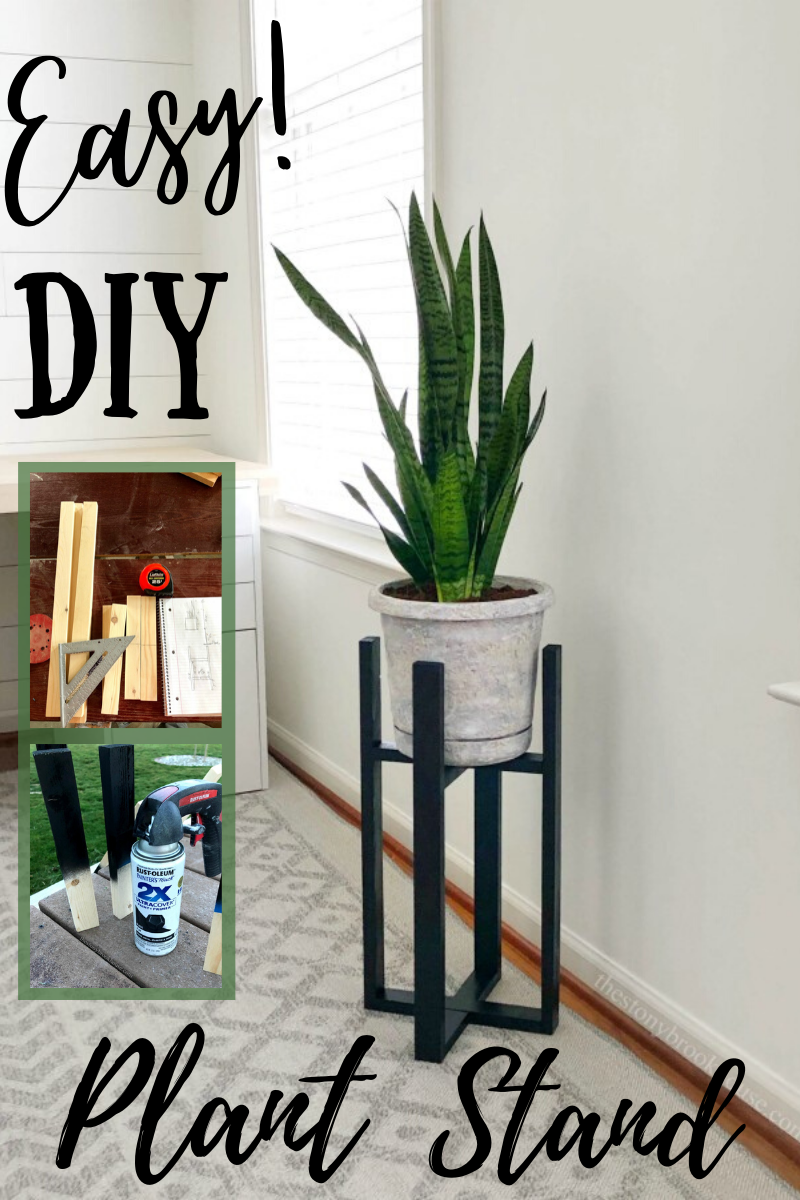 Easy DIY Plant Stand Tutorial