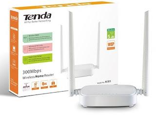 Spesifikasi Router Tenda N301