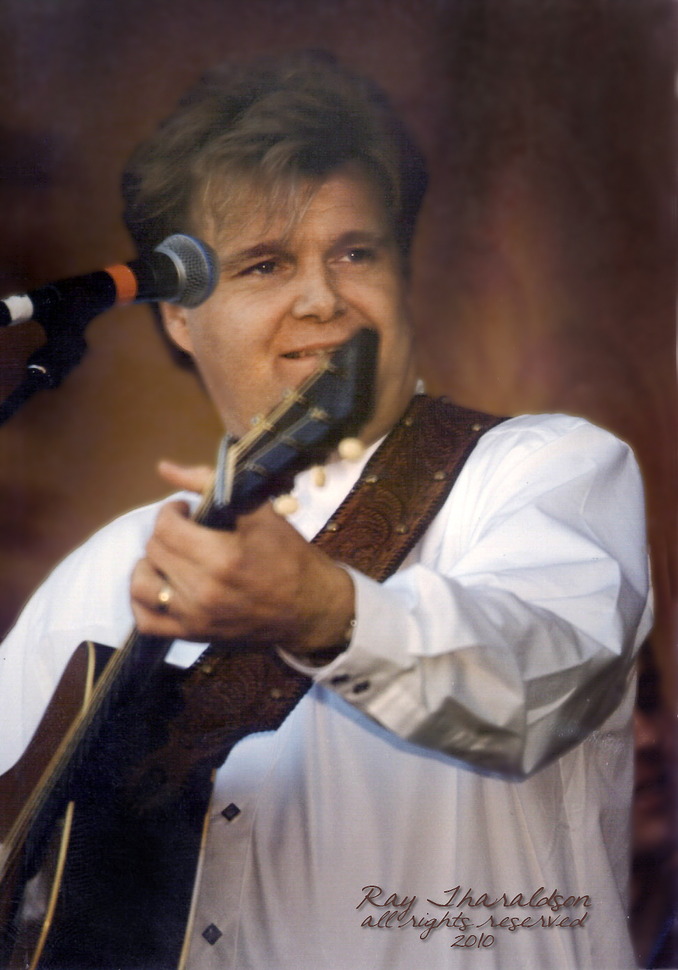 American News Broadcasting Ricky Skaggs Appearing At The