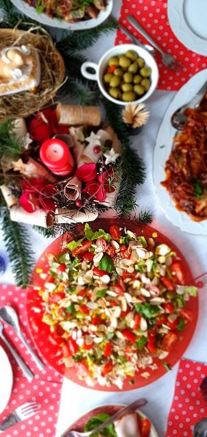fit sałatka,lekka sałatka,świąteczna sałatka,extra sałatka,najlepsza sałatka,sałatka odchudzająca,z kuchni do kuchni,fit rzepisy,